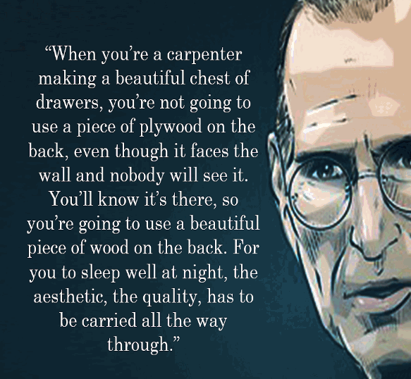 Steve Jobs Quote On Quality And Craftsmanship