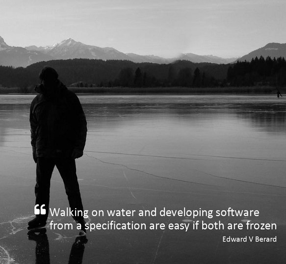 Quote On The Ease Of Software Development With Specifications