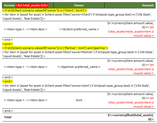 Xplan Xmerge Coding - Variables 2